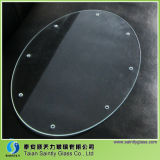 3.2mm Tempered Ultra Clear Glass with 8 Holes