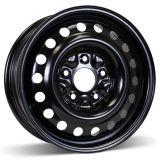 16X6.5 5-127 (5-5) Black Steel Winter Wheel