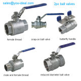 2PC High Temperature Type Ball Valve