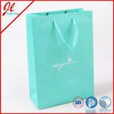 Blue Promotional Reusable Kraft Paper Shopping Bag Paper Gift Bags Packaging Bags