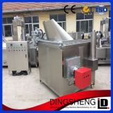 Automatic Feeding Fruit Vegetable Chips Fryer Machine