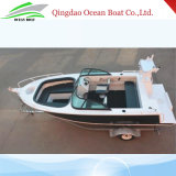 China Factory Supply 17FT/5m Bowrider Welded Aluminum Fishing Boat