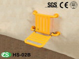 Folded Nylon Shower Stool Bath Seat for Elderly/Handicapped