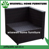 Outdoor Sectional Furniture PE Wicker Rattan Single Sofa (WXH-036)