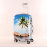 Hard Shell Colorful Printed PC Luggage