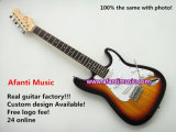 Best Seller! St Electric / Sunburst Color / Electric Guitar (Afanti AFEG106)