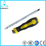 Cr-V Steel PP Handle Phillips Magnetic Adjustable Screwdriver