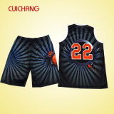 College Basketball Uniforms/Fashion Basketball Wear with Sublimation Print