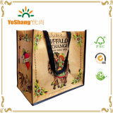 2016 Recycled Custom Printed Laminated RPET Shopping Bag