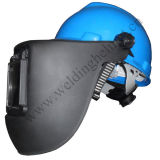 Hard Hat/ Flip Up Filter/ Solar Powered Welding Mask with Grinding