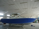 Aluminum Alloy Material Marine Boat in River, Sea