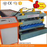 1100 Galvanized Steel Step Tile Roll Forming Machine