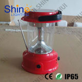 Solar LED Camping Lantern with 4V3500ah Lid-Battery