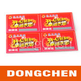 300g Coated Paper Color Scratch off Ticket Card