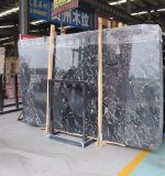 Competive Price Black Portopo Marble Slab for Interior Decoration