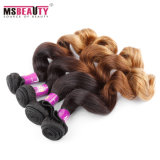 100% Human Hair Extension Virgin Ombre Brazilian Hair Curly