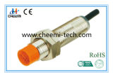 M12 Inductive Proximity Sensor Switch Detection Distance 4mm 6-36VDC Full Thread Wrench Sharp-Edged Type NPN No