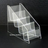 Custom Acrylic Plastic Business Card Holder (BTR-H6035)