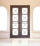 New Iron Grill Window Double Entry Door Designs