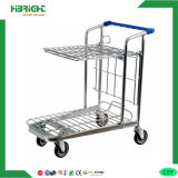 Foldable Warehouse Delivery Platform Trolley