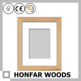 Natural Solid Wood Picture Photo Frame for Gift
