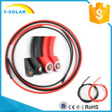 Mc4X6mm2 33A-57A Solar PV Cable Class-5 Tinned-Copper Wire Black&Red
