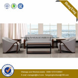 Modern Office Furniture Genuine Leather Couch Office Sofa (HX-CF025)