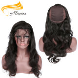 Wholesale Virgin Human Hair Bundle 360 Lace Frontal Closure
