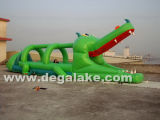 Inflatable Crocodile Jumping Bouncer, Bouncy Castle Customized