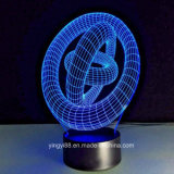 Newest Acrylic 3D LED Night Lights - 3D Illusion Desk Lamp