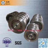 ISO 42CrMo Double Flange Forging Wheel for Bridge Crane
