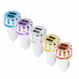 ABS 5V 2.1A Universal 2-Port Car Charger for iPhone Samsung