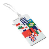 Costomized PVC Signature Travel Plastic Hang Luggage Tag (KC05)