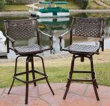 Cast Aluminum Outdoor Furniture Bar Stool for Patio