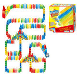 Kids Manual Arch Bridge of Dominoes Set