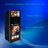 Best Price Coffee Vending Machine with Coin and Drop-Cup System