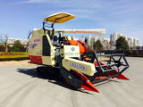 Combine Harvester of Yanmar Type for Harvest Paddy with Full-Feeding Harvesting