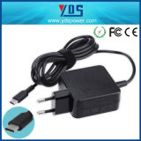 30W 45W 5V/9V/12V/15V/20V 65W 1A~3A USB Pd Type-C Charger Adapter for HP/Asus/Lenovo/DELL