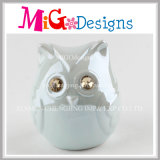 Colorful Owl Manufactory Ceramic Coin Box for Children