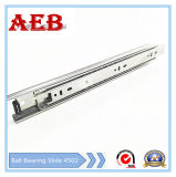 Aeb-4502mm Common Three-Sections Ball Bearing Slide (shaped groove)