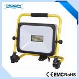 Portable IP54 50W LED Floodlight with Ce RoHS EMC