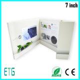 Best Sale 7 Inch 360 Video Brochure Printing