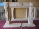 Stone Carving Marble Sculpture Fireplace Mantel Fireplace Surround