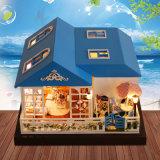2017 Wholesale Kids Wooden Big Dollhouse