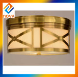 Flush Mounted Ceiling Lamp Bronze Chandelier for Decoration