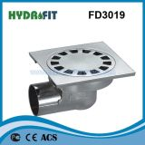 Zinc Alloy Shower Floor Drain / Floor Drainer (FD3019)