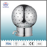 Sanitary Stainless Steel Bolted Fixed Cleaning Ball (SMS-NM120004)