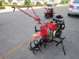Hot Sale Chinese Manufacture Multifunctional Mini Handy Diesel Power Tiller for Plough