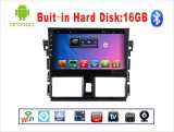 Android System Car DVD GPS for Toyota Vios 10.1 Inch Touch Screen with Bluetooth/WiFi/TV/USB