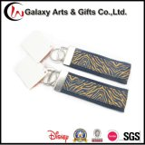 Quality Polyester Wholesale Key Strap with Metal Header
